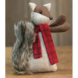 Snuggles Fox Ornament
