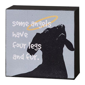Dog Angels Box Sign