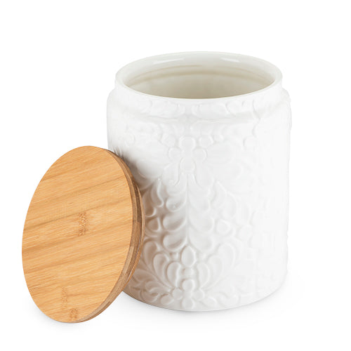 Textured Ceramic Canister by Twine®