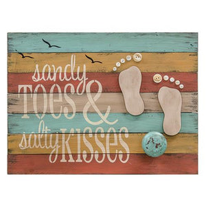 Toes & Kisses Knob Sign