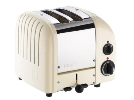 Dualit DU2CWHT 2 Slice Toaster