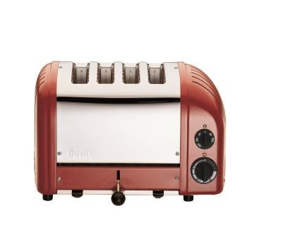 Dualit DU4RED 4 Slice Toaster
