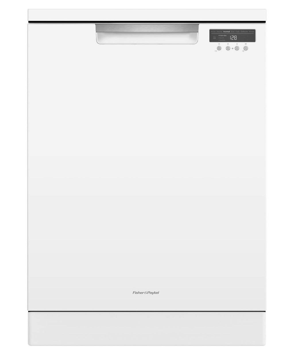Fisher & Paykel DW60FC6W1 white freestanding dishwasher
