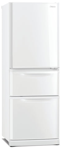 Mitsubishi MRC375GWA two drawer refrigerator