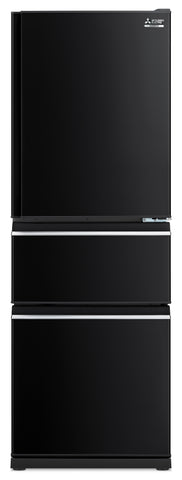 Mitsubishi MRCX370EJOBA two drawer refrigerator