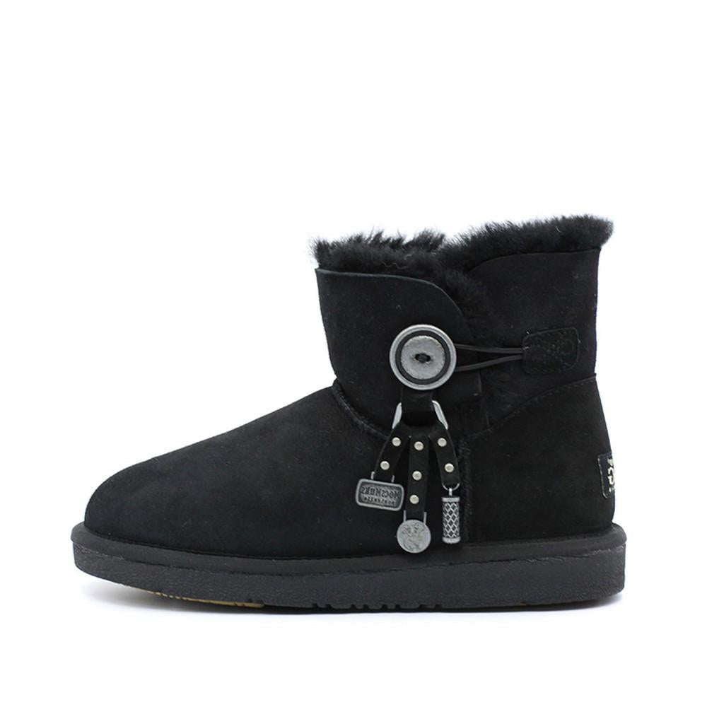 Kiki Ankle Ugg Boot - Black