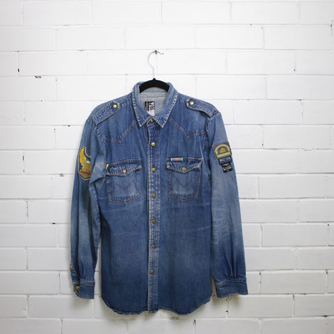 Montanna Denim shirt L