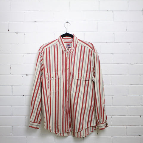 Levis ribbed shirt L