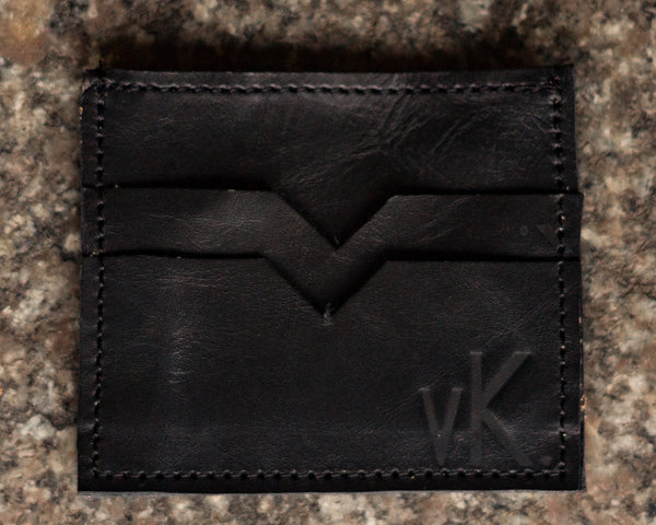 vK. Credit Card Wallet - BLK