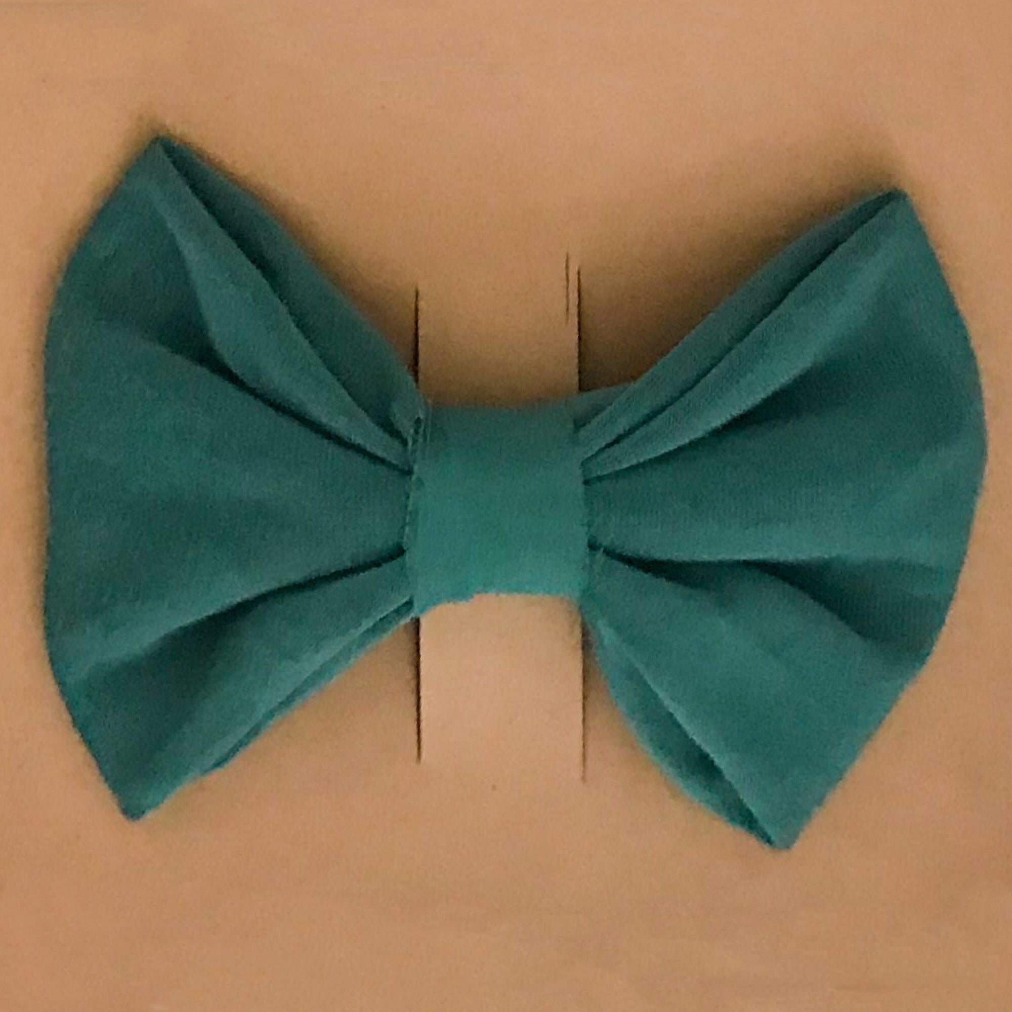 Teal VBABY Hair Bow