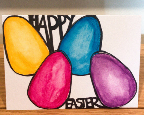 Easter Card no. 1 (4 Pack)