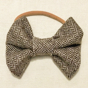 Brown Twill VBABY Headband