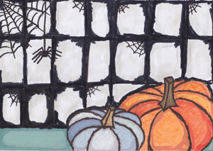 Spooky Fall Card no. 1 (4 Pack)