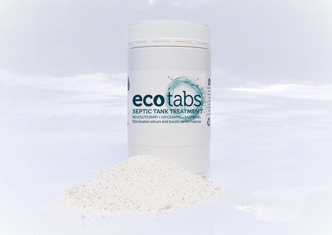 Eco Tabs Granule Septic Tank Treatment  -  Free Shipping