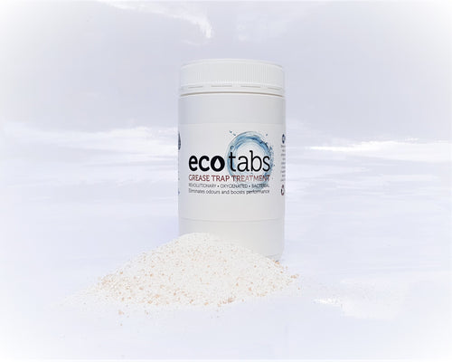 Eco Tabs Grease Trap Treatment  -  Free Shipping
