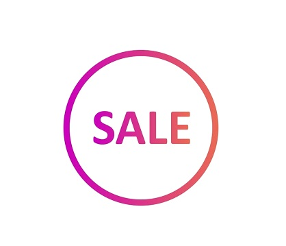 - A SALE ON NOW!
