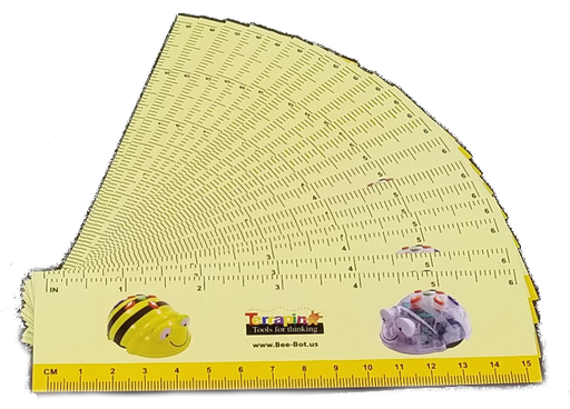 Bee-Bot / Blue-Bot Step Ruler 20 Pack