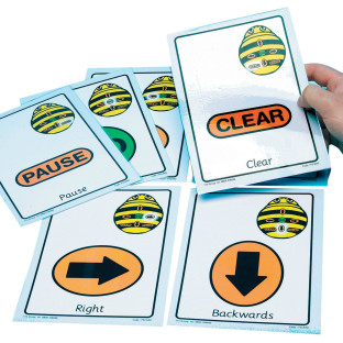 Bee-Bot & Blue-Bot - Command Cards