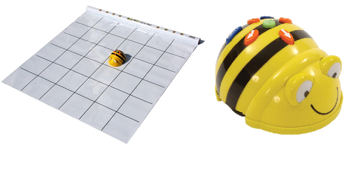 Bee-Bot Learning Station - Robot and Card Mat Bundle