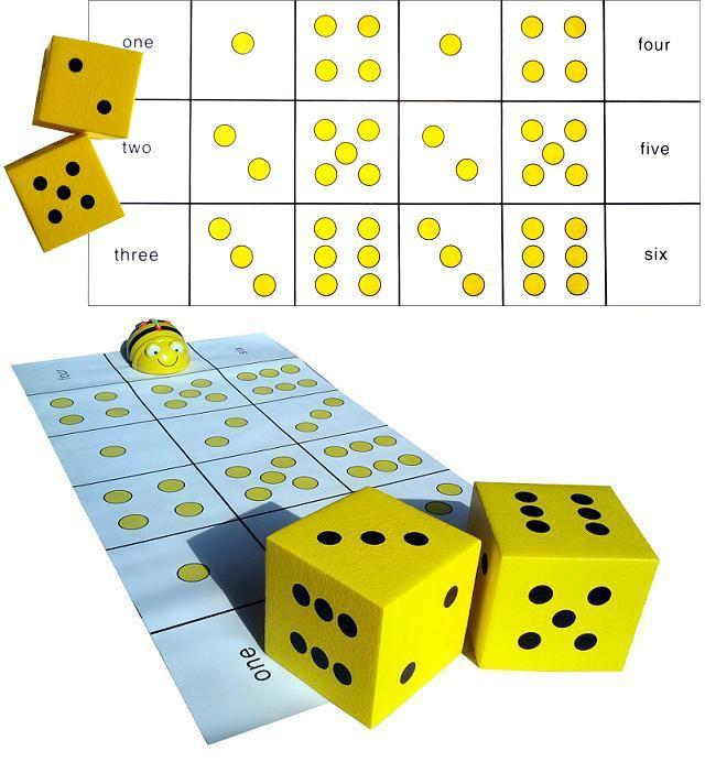 Dice Mat (Bee-Bot)