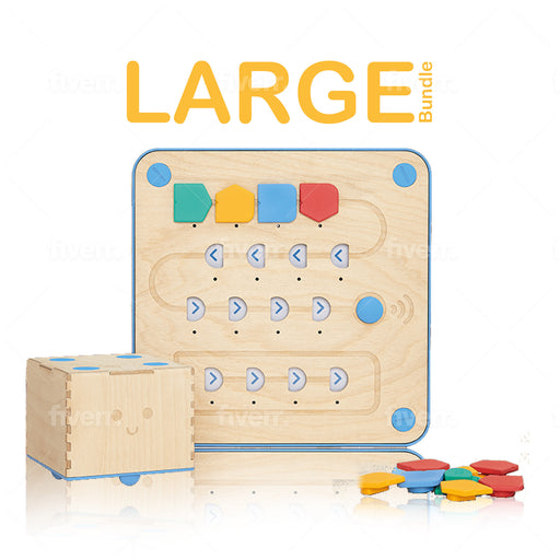 Cubetto Classic Playset- Large Classroom Bundle (10 Cubettos, Adventure Packs & Block Extensions)