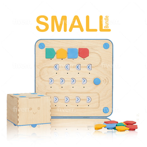 Cubetto Classic Playset- Small Classroom Bundle (5 Cubettos, Adventure Packs & Block Extensions)
