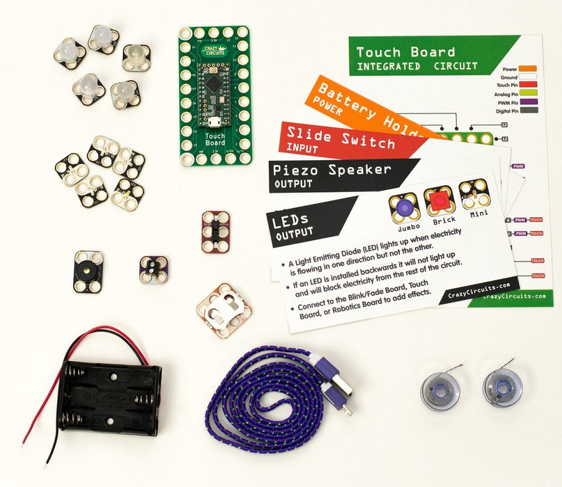 Crazy Circuits Non-Soldering Electronic Learning Platform - 1 Hour Training