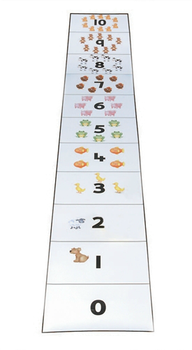 Number Line Mat (Bee-Bot)