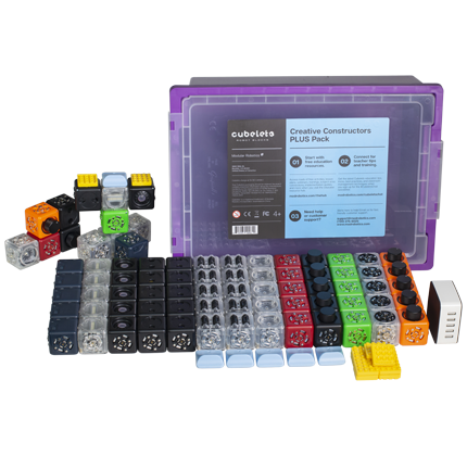Cubelets® Creative Constructors PLUS Educator Pack