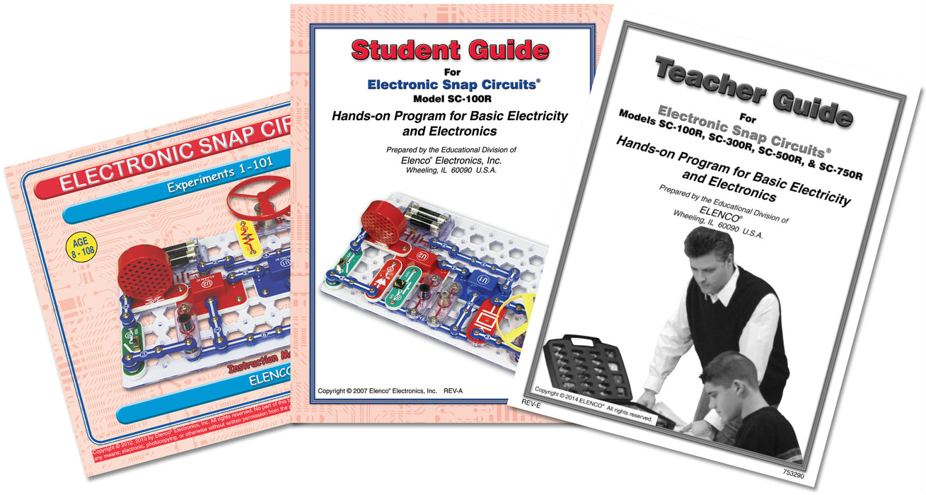 Snap Circuits® Jr. Educational 100 Experimants
