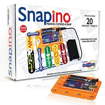 SNAPINO  Arduino based coding set (New!)