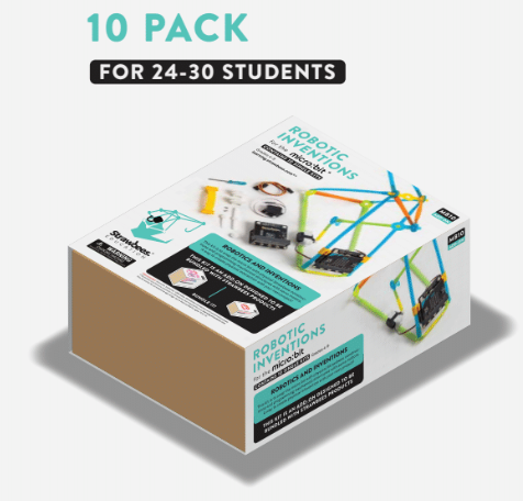 Robotic Inventions for the micro:bit (10 Pack) - Pre-Order Now! (July Delivery)