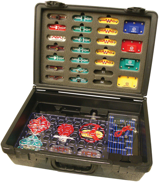 Snap Circuit with Educational Deluxe Case - 300 Experiments