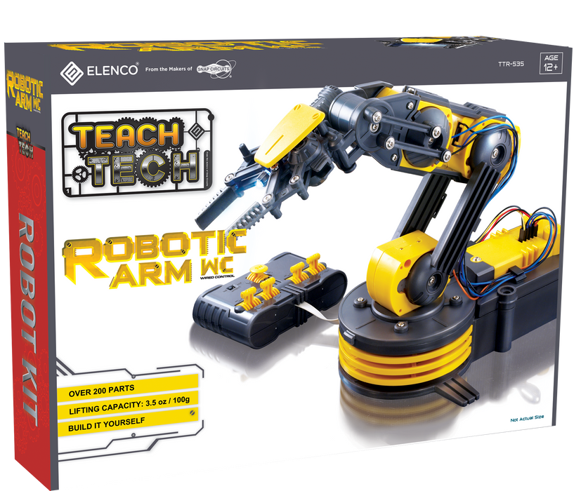 Robotic Arm Wire Controlled (Elenco) - Classroom 10 Pack