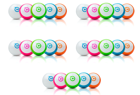 Sphero Mini™ Classroom Bundle - 25 Sphero Mini's & 25 Sphero Mini Covers