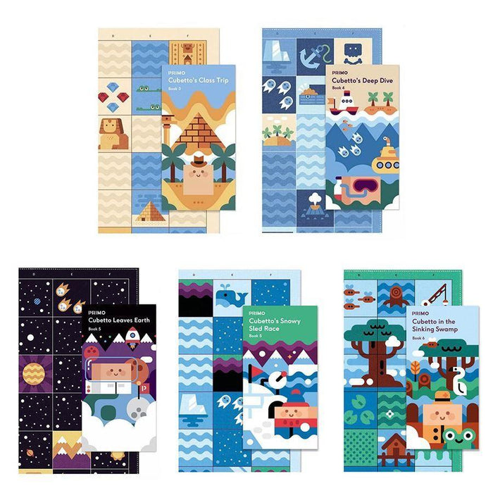 Cubetto Classroom Adventures - 9 Pack (Story Books & Maps)