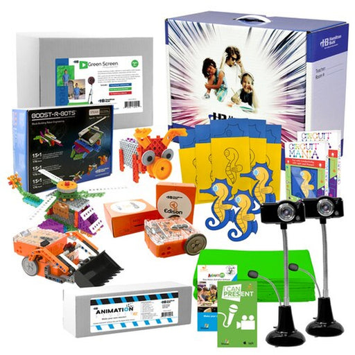 Beginner Skill Level STEAM Starter Pack - Includes: Coding Robots, Engineering Kits and Media Production Kits (HamiltonBuhl STEAM Price)