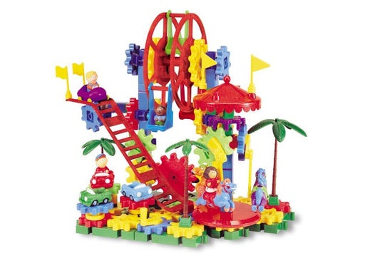Gears! Gears! Gears!® Dizzy Fun Land™ Motorized Building Set