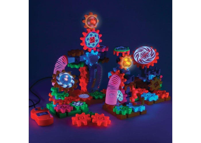 Gears! Gears! Gears!® Lights & Action Motorized Building Set