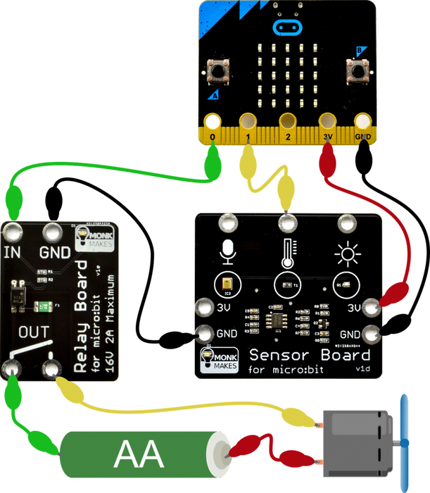 Electronics Starter Kit for micro:bit (Monk Makes)