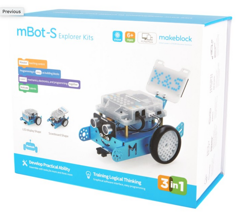mBot-S Educational Kit Storage & Charging Solution - 6 x mBots + Case