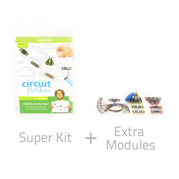 Super Classroom Kit +  Inventor's Notebook