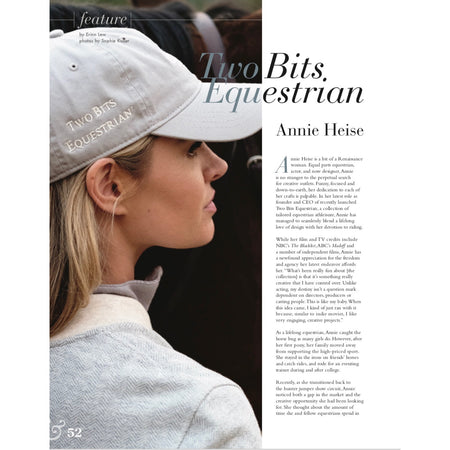 Feature in Horse & Style Magazine