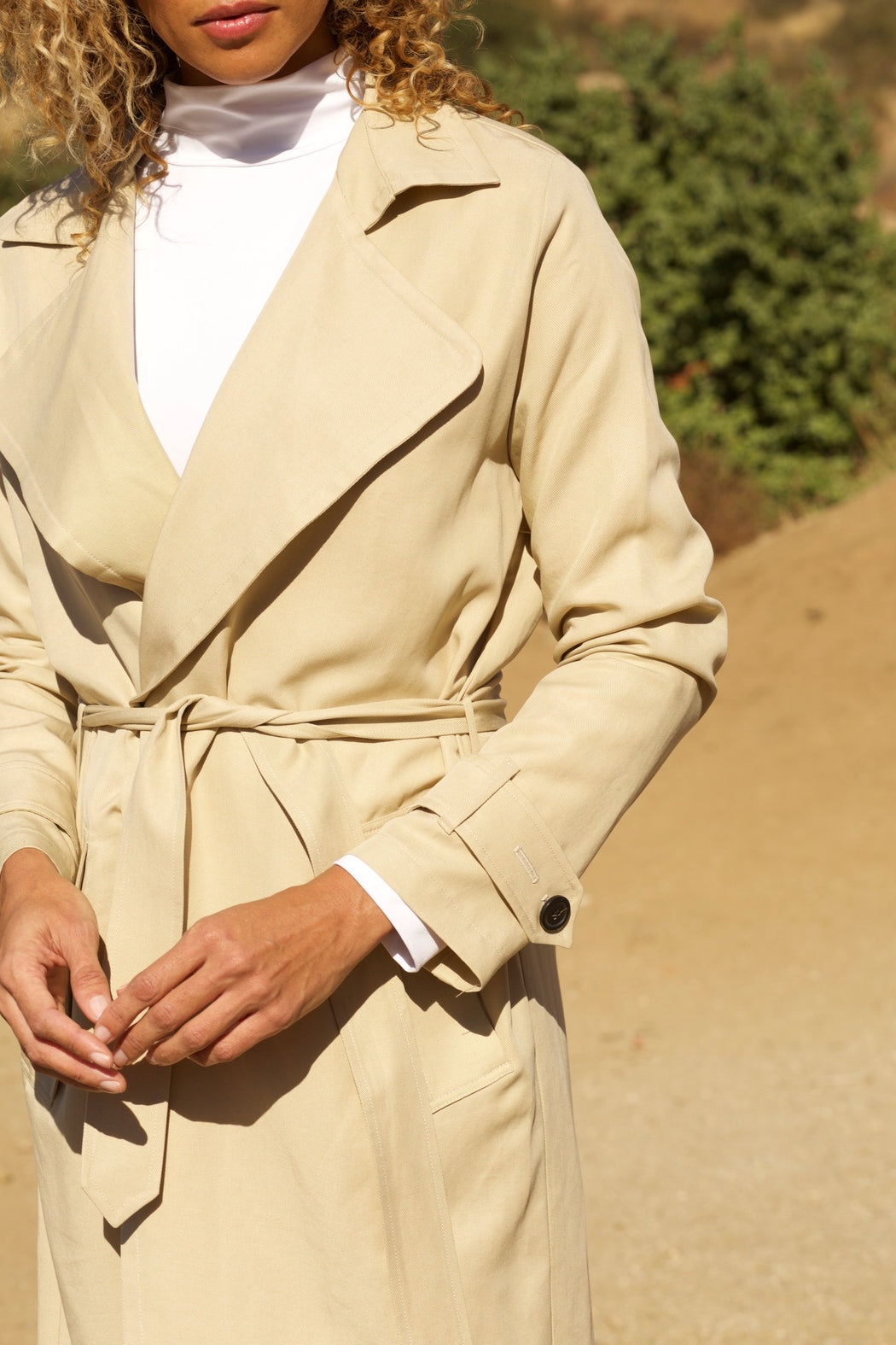 (preorder) THE LIGHTWEIGHT TRENCH by T.B.E. Collection