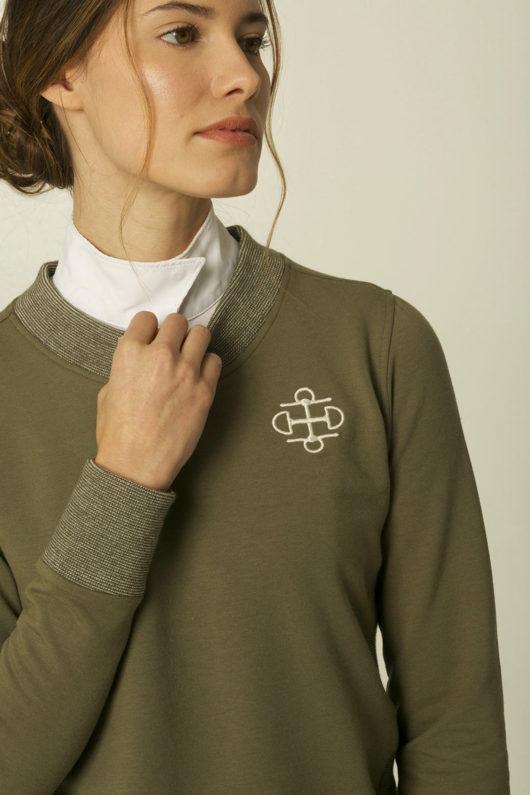 THE SAGE BAMBOO CREWNECK SWEATER