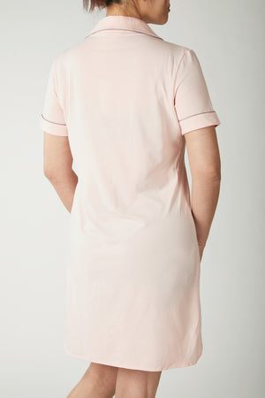 Finelycup Homewear L404: Short Sleeve Pyjamas Dress
