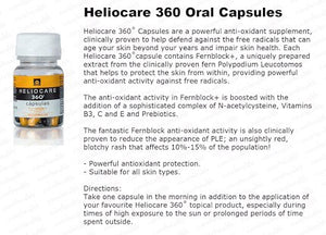 Heliocare 360 Oral Capsules (30 capsules), A potent anti-oxidant supplement