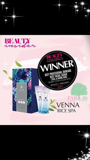 Venna Rejuvenating & Refreshing Duo Set (1 Box Venna Rice Spa + 5 pieces of Venna Intense Treatment Luminous Hydration Lifting Mask & Free 1 additional piece Venna Mask)