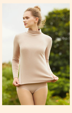 FinelyCup L20210005: Life Series Fitted Long Sleeve High Neck Top