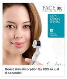 FACE INC Anti-Aging Home Kit: A set comes with a potent anti-aging serum and a micro-needle derma roller
